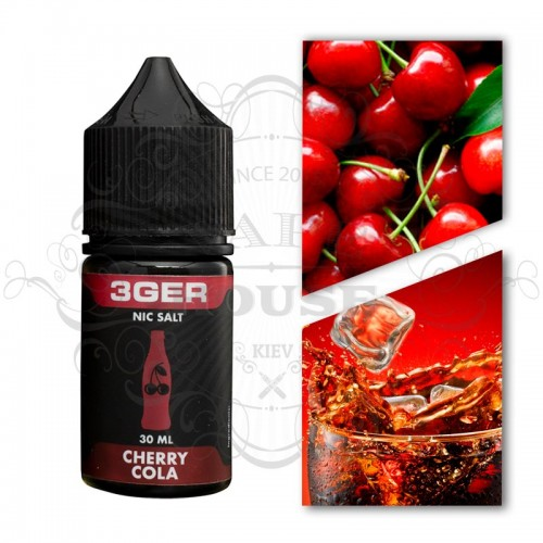 Премиум жидкость 3GER SALT — Cherry Cola