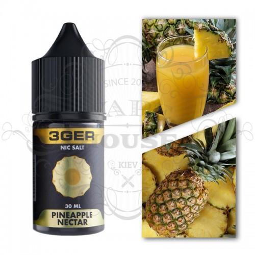 Премиум жидкость Солевой 3GER SALT — Pineapple Nectar