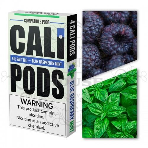 Картридж Cali Blue Raspberry Mint — Juul совместимые