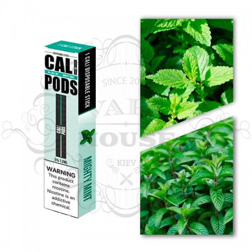 Одноразовая электронная сигарета — Cali Disposable Mighty Mint