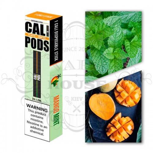 Одноразовая электронная сигарета — Cali Disposable Mango Mint