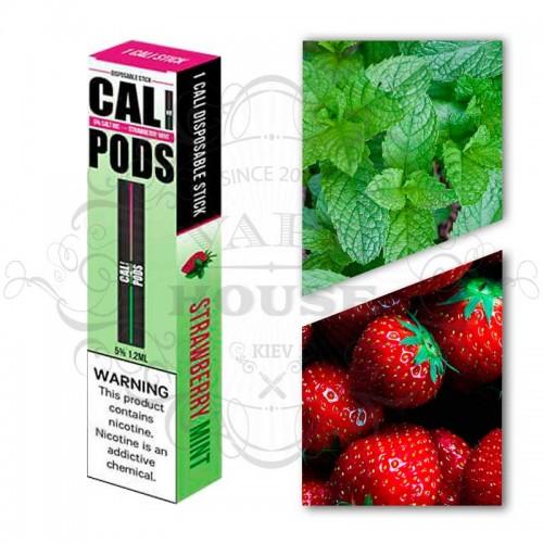 Одноразовая электронная сигарета — Cali Disposable Strawberry Mint