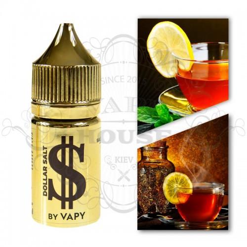 Премиум жидкость Dollar Salt — Brown (Tea&Lemon)