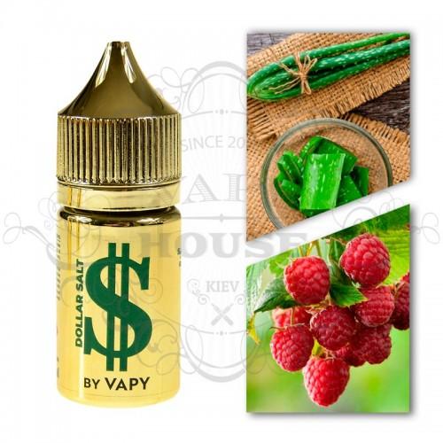 Премиум жидкость Dollar Salt — Green (Raspberry&Aloe)