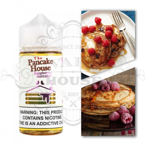 Премиум жидкость The Pancake House — Raspberry Hotcakes