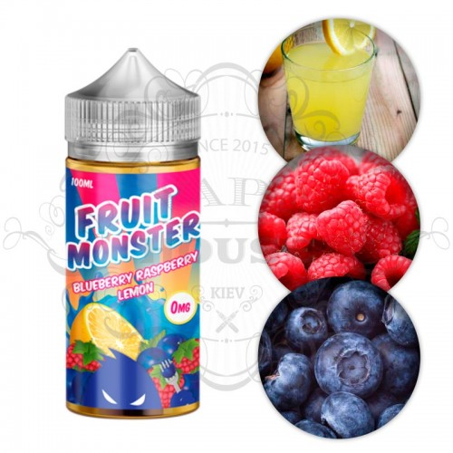 Премиум жидкость Fruit Monster — Blueberry Raspberry Lemon