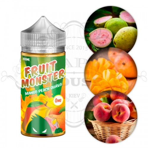Премиум жидкость Fruit Monster — Mango Peach Guava