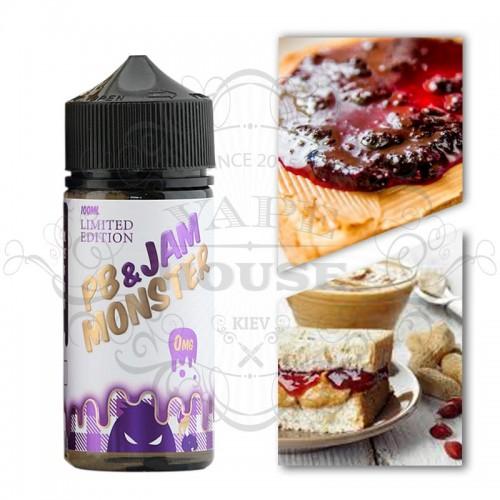 Премиум жидкость Jam Monster — PB & Jam Grape