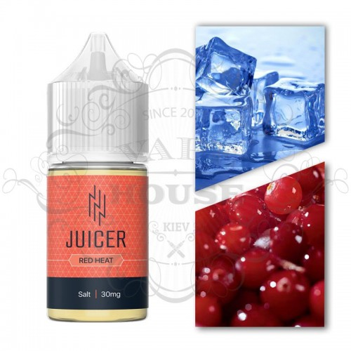 Премиум жидкость Juicer Salt — Red Heat