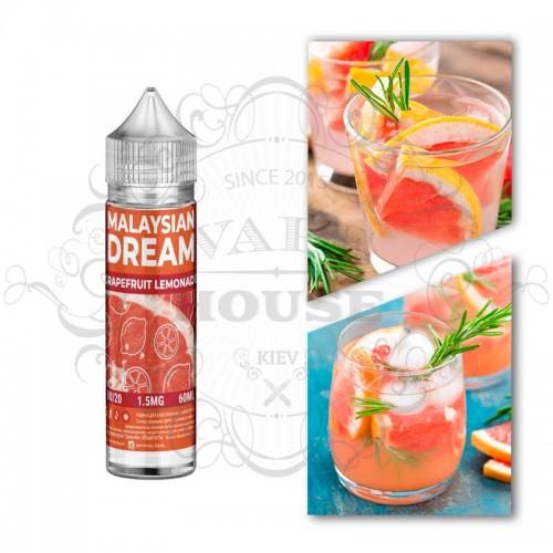 Премиум жидкость Malasian Dream — Grapefruit lemonad
