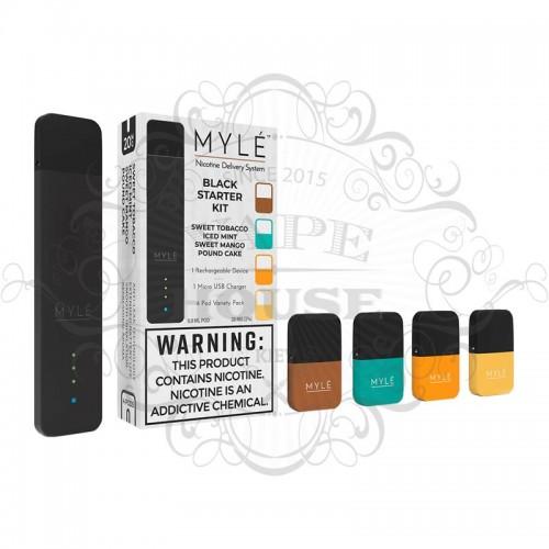 POD система — MYLE Starter Kit (+4 картриджа)