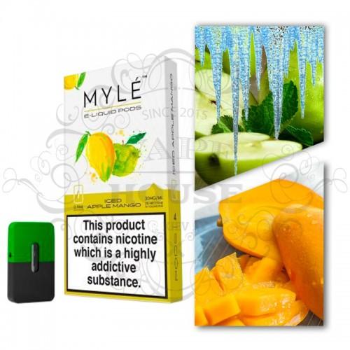 Картридж — MYLE Iced Apple Mango