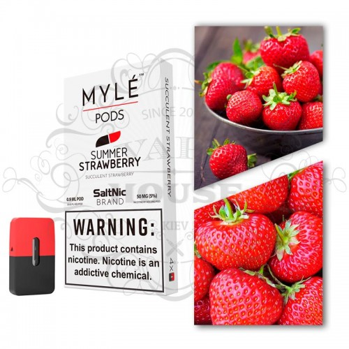Картридж — MYLE Summer Strawberry