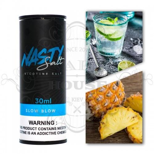 Премиум жидкость Nasty Juice SALT — Slow Blow