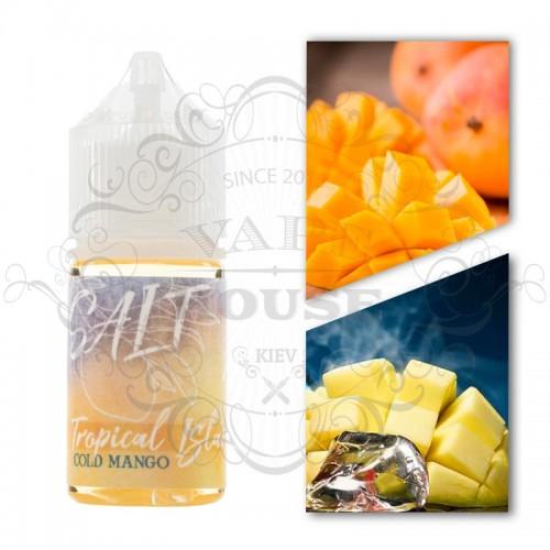 Премиум жидкость Tropical Island Salt — Cold Mango