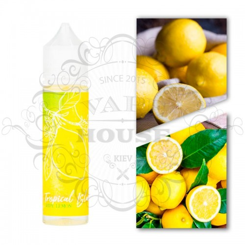 Премиум жидкость Tropical Island — Ripe Lemon