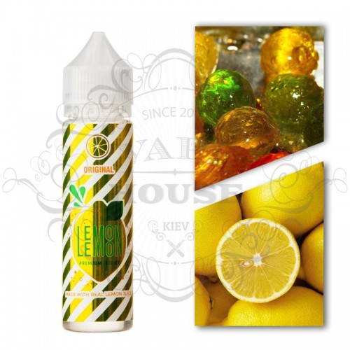 Премиум жидкость 3ger — Lemon Lemon