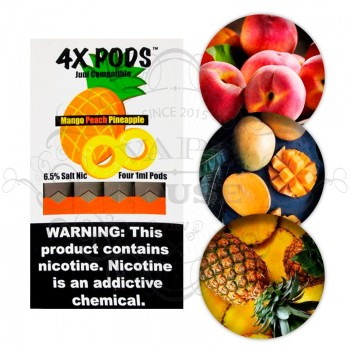 Картридж 4X Salt — Mango Peach Pineapple