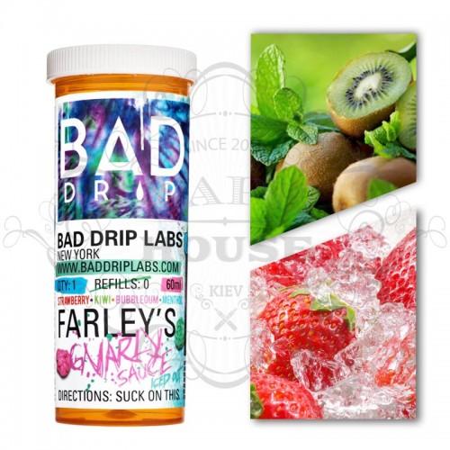 Премиум жидкость Bad Drip — ICED Farley`s Gnarly Sauce