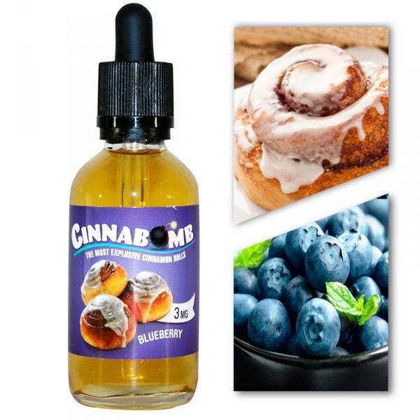 Премиум жидкость Cinnabomb Blueberry