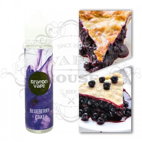 Премиум жидкость DRAGON VAPE — Blueberry Cake
