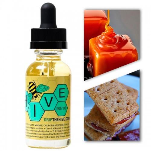 Премиум жидкость Hive — Caramel Graham Cookie