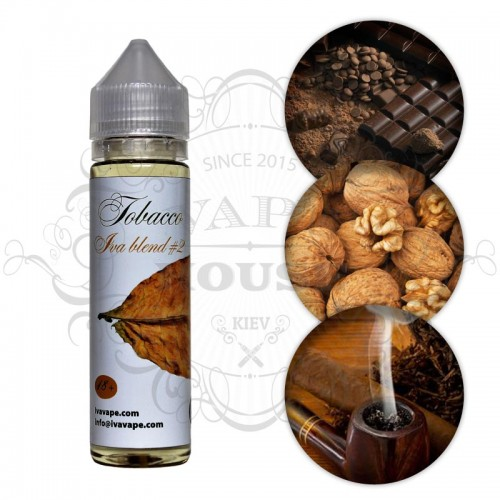 Премиум жидкость IVA — Tobacco blend #2