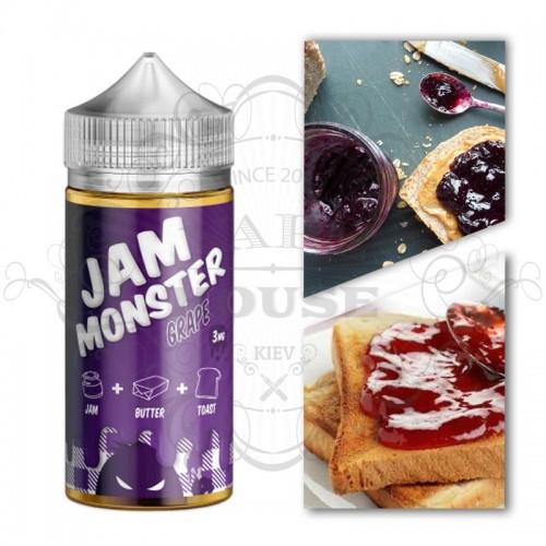 Премиум жидкость Jam Monster — GRAPE