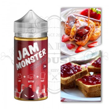 Э-жидкость Jam Monster — STRAWBERRY