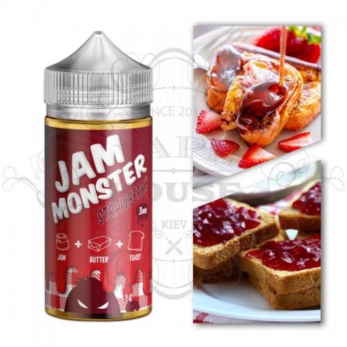 Премиум жидкость Jam Monster — STRAWBERRYE
