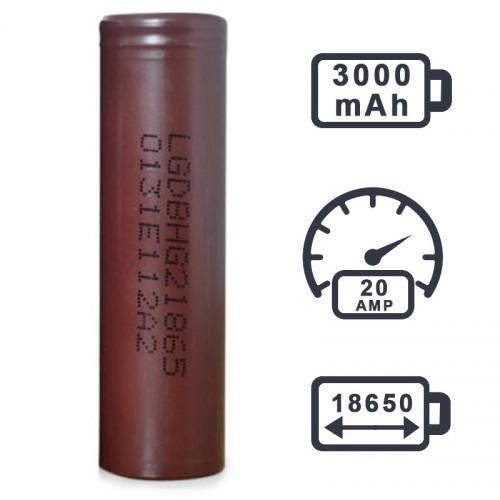 Аккумулятор LG HG2 3000 mAh (20A) ШОКОЛАДКИ