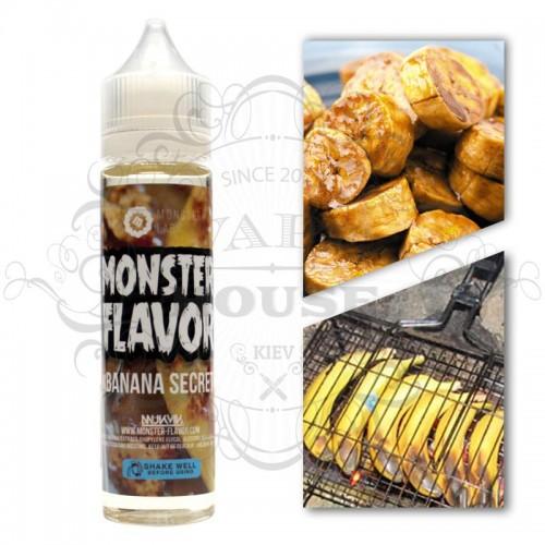 Премиум жидкость Monster Flavor — Banana Secret
