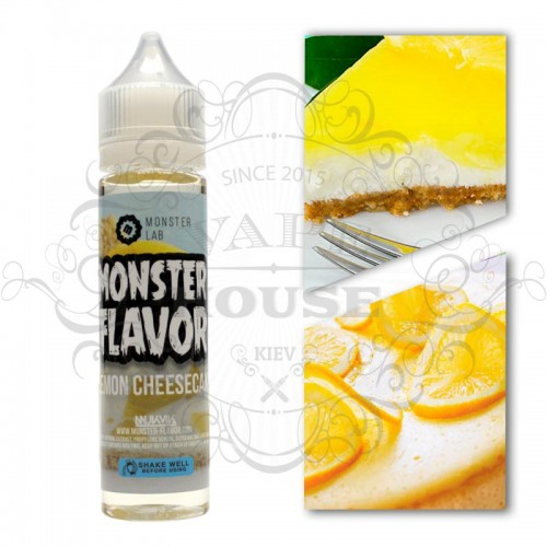 Премиум жидкость Monster Flavor — Lemon Cheesecake