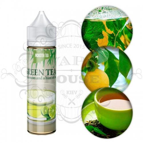Премиум жидкость Monster Flavor — Green Tea