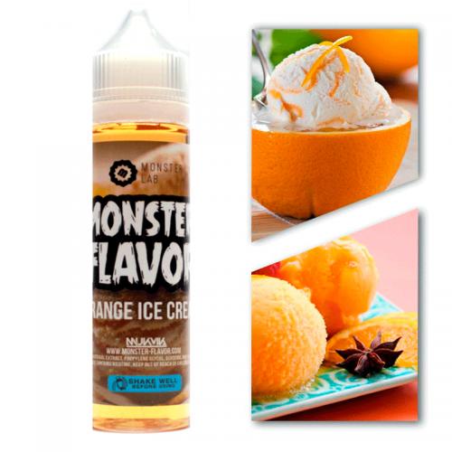 Премиум жидкость Monster Flavor — Orange Ice—Cream