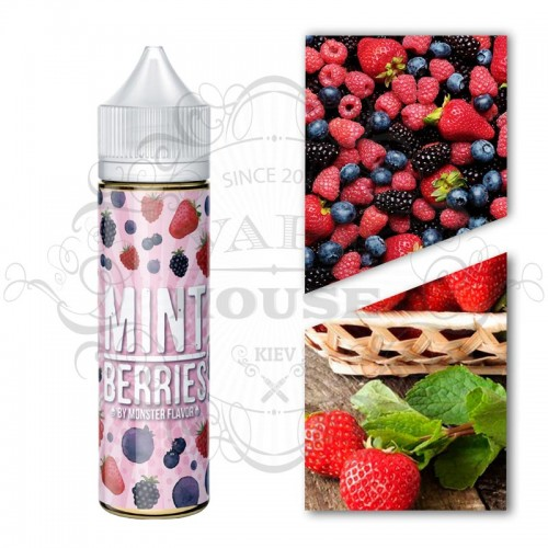 Премиум жидкость Monster Flavor — Mint Berries