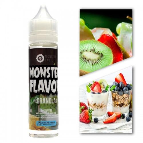 Премиум жидкость Monster Flavor — Granola