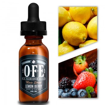 Old Fashioned Elixir - Lemon Berry