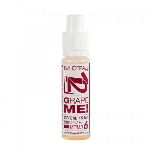 Премиум жидкость Pink Fury — Grape Me