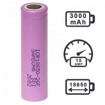 Аккумулятор Samsung 30Q 3000 mAh (20А)
