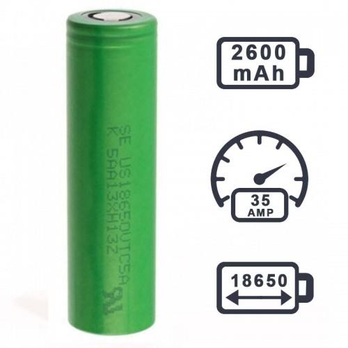 Аккумулятор Sony US18650VTC5A 2600mAh
