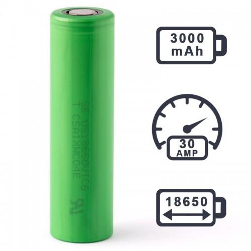 Аккумулятор Sony VTC6 3000mAh 30A NEW