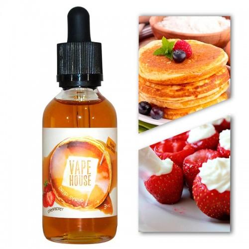 Премиум жидкость Vape House — Stawberry Pancake