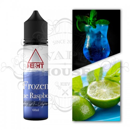 Премиум жидкость A-Vape — Frozen Blue Raspberry