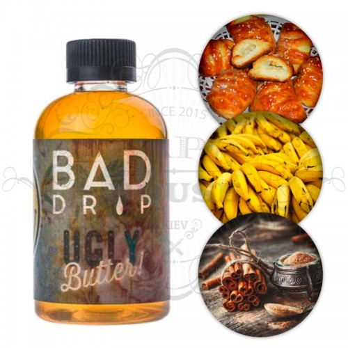 Премиум жидкость Bad Drip — Ugly Butter 120ml
