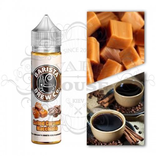 Премиум жидкость Barista Brew Co — Salted Caramel Macchiato