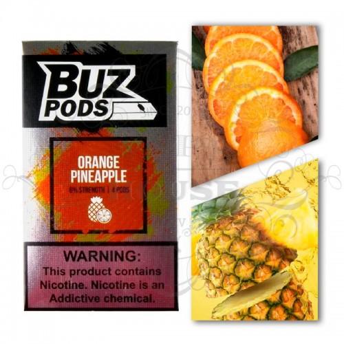 Картридж BUZ Pods — Orange Pineapple - Juul совместимые