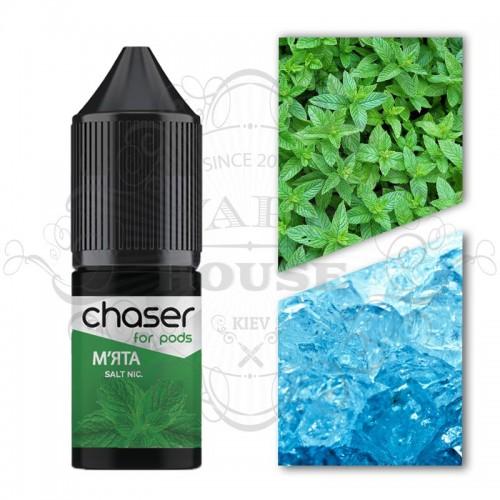 Премиум жидкость Chaser salt — МЯТА