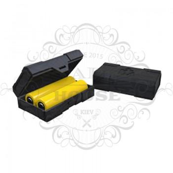 Кейс для аккумуляторов CHUBBY GORILLA на 2 батарейки