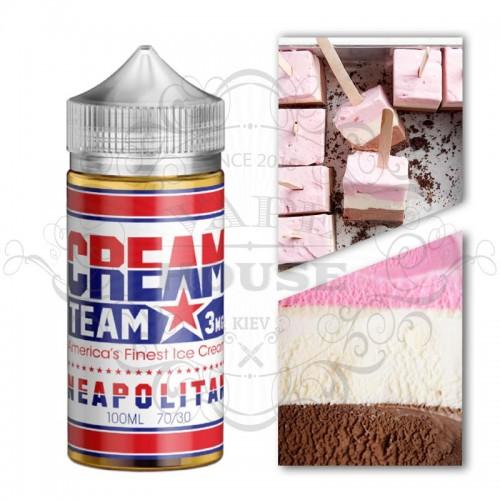 Премиум жидкость CREAM TEAM – NEAPOLITAN